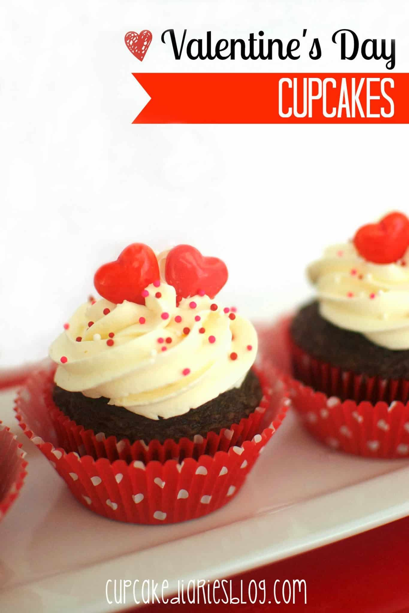 and of course cupcakes are my very favorite kind i especially love holiday cupcakes these valentines day cupcakes are really cute and