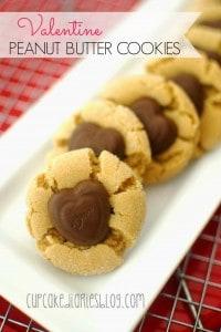 Valentine Peanut Butter Cookies