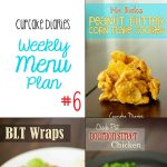 Cupcake Diaries Weekly Menu Plan #6