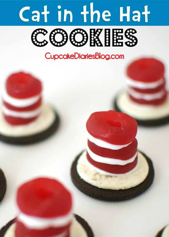 Cat In The Hat Cookies Cupcake Diaries