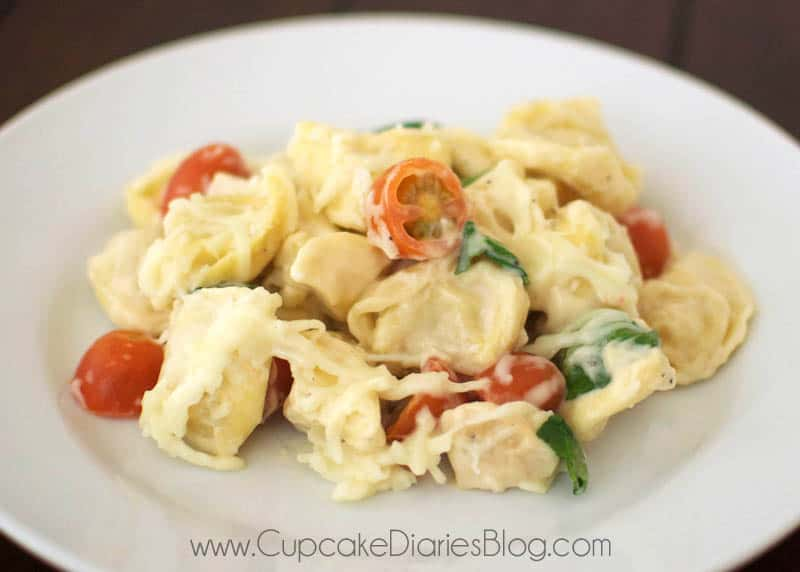 Easy chicken and tortellini recipes