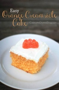 Easy Orange Creamsicle Cake