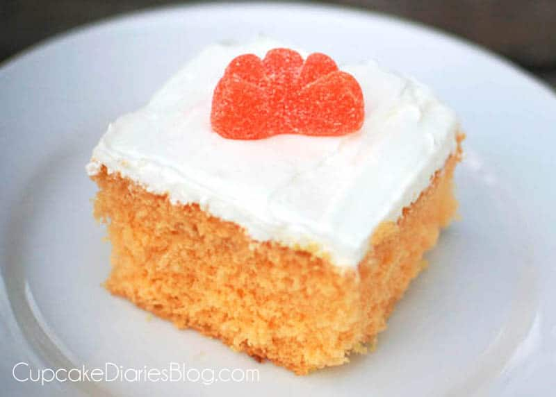 Orange Creamsicle Cake Using Yellow Cake Mix