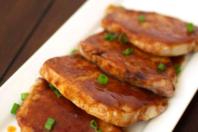 Easy Brown Sugar Pork Chops