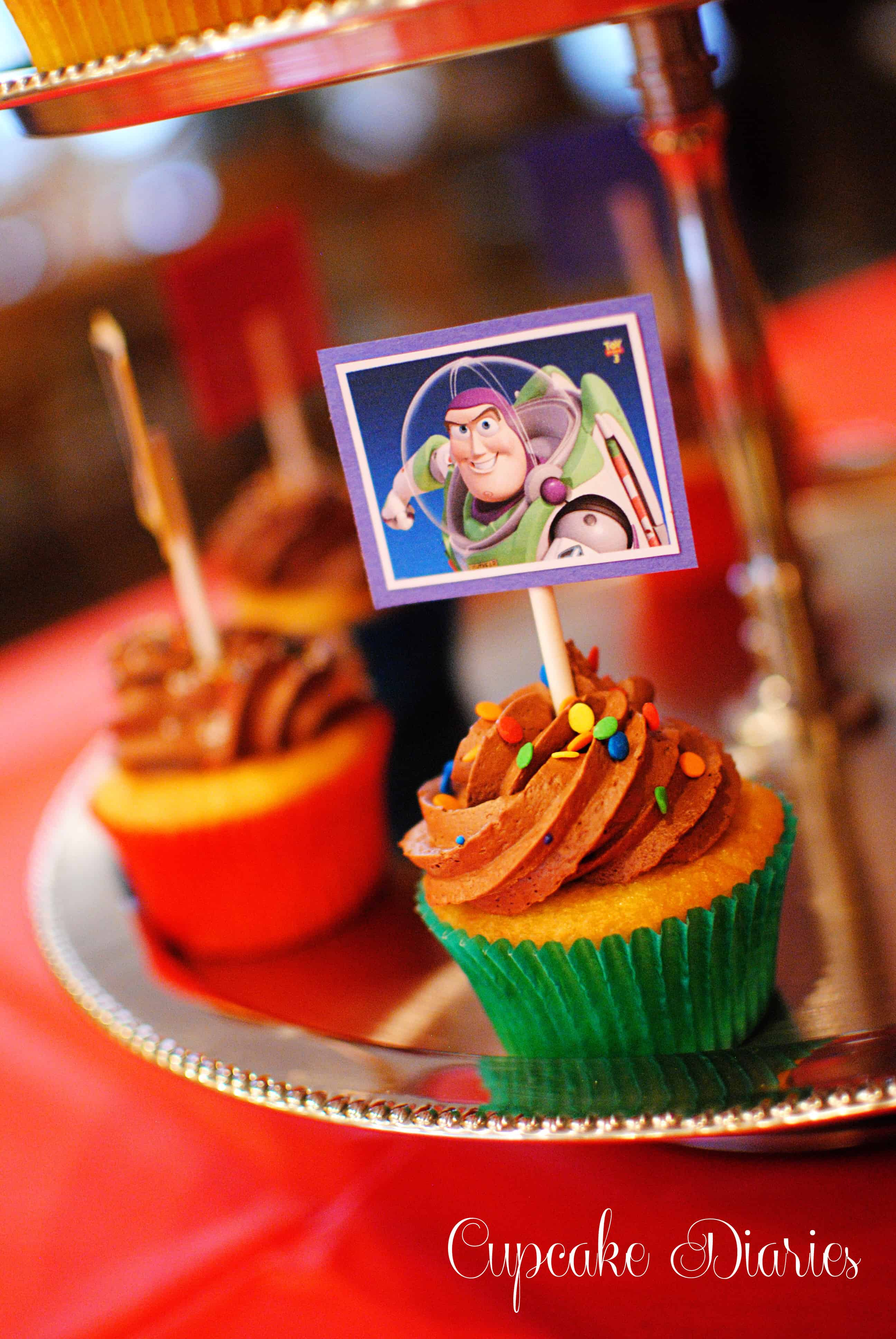 Toy Story 3 Birthday Party Cupcake Diaries
