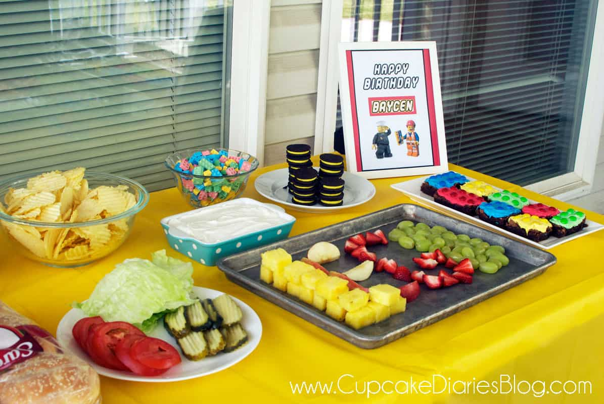 Easy Cheap Diy Home Decor Easy Lego Birthday Party Ideas Cupcake Diaries
