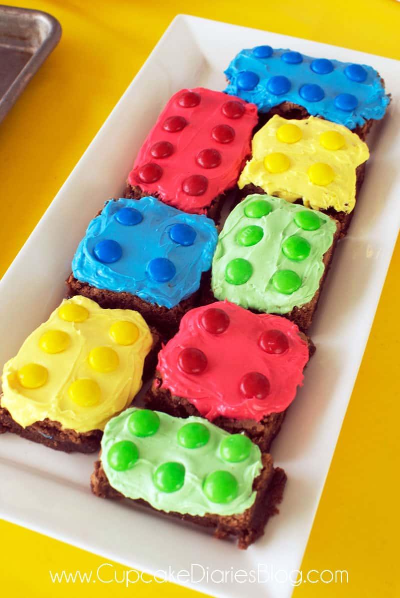 Easy Lego Birthday Party Ideas Cupcake Diaries