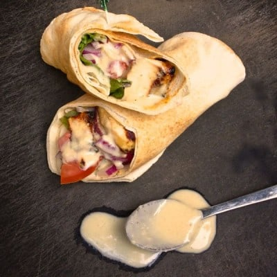 Chicken-Shawarma-Pita-with-Tahini-Garlic-Sauce-The-Lemon-Bowl-400x400