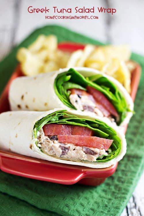 Greek-Tuna-Salad-Wrap