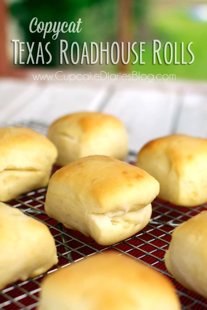 Copycat Texas Roadhouse Rolls are so good and taste just like the originals!