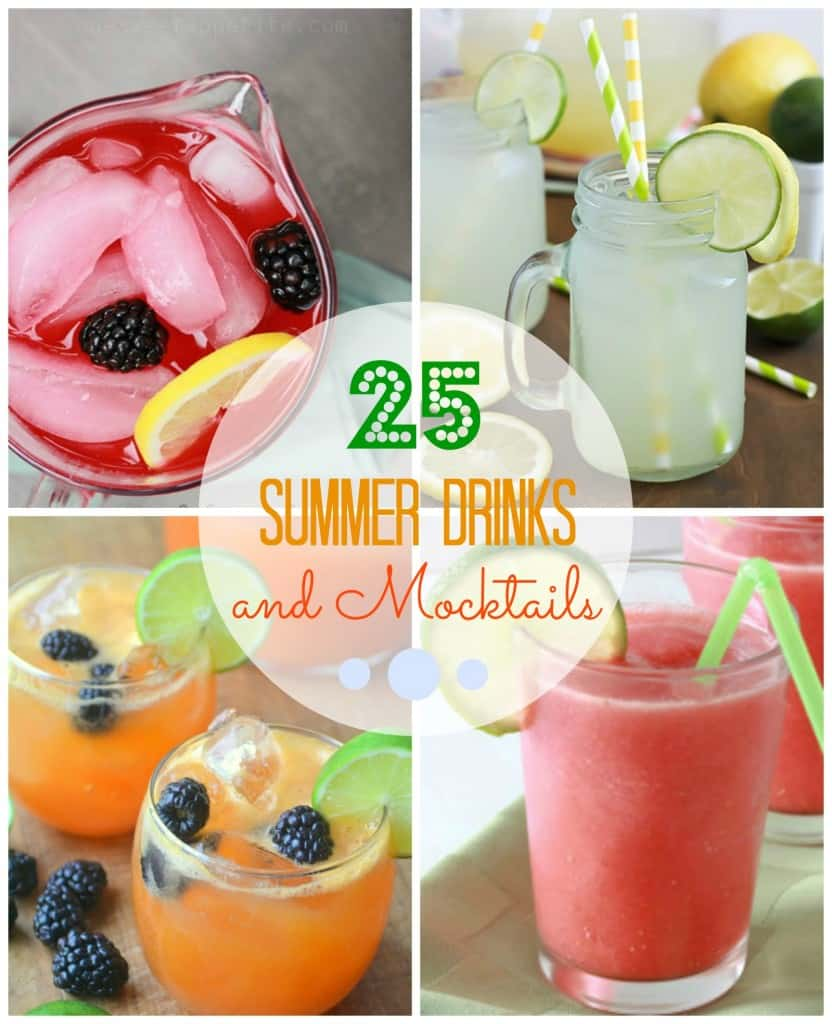25 Summer Drinks and Mocktails