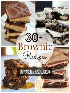 30+ Brownie Recipes