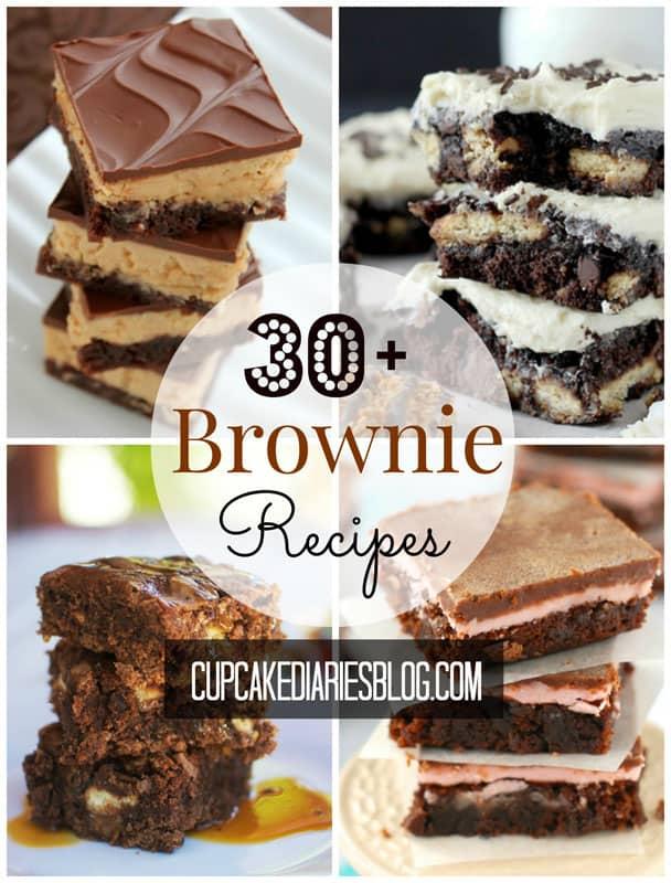 30+ Brownie Recipes