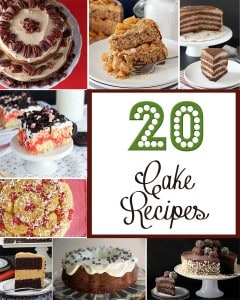 20 Cake Recipes