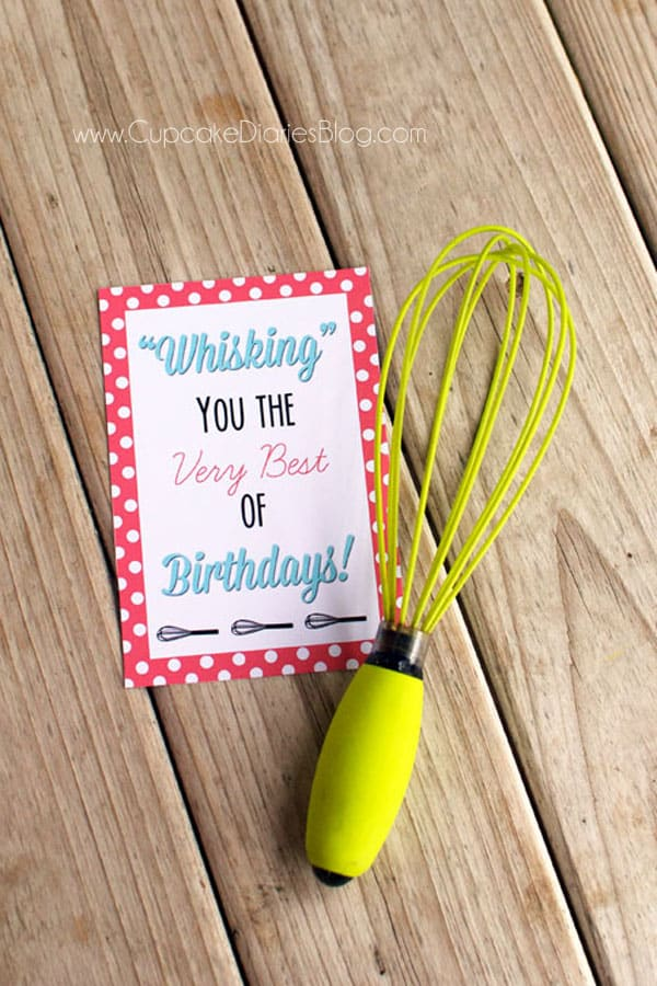 Birthday Whisk Printable
