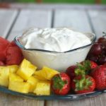 Creamy Lime Fruit Dip