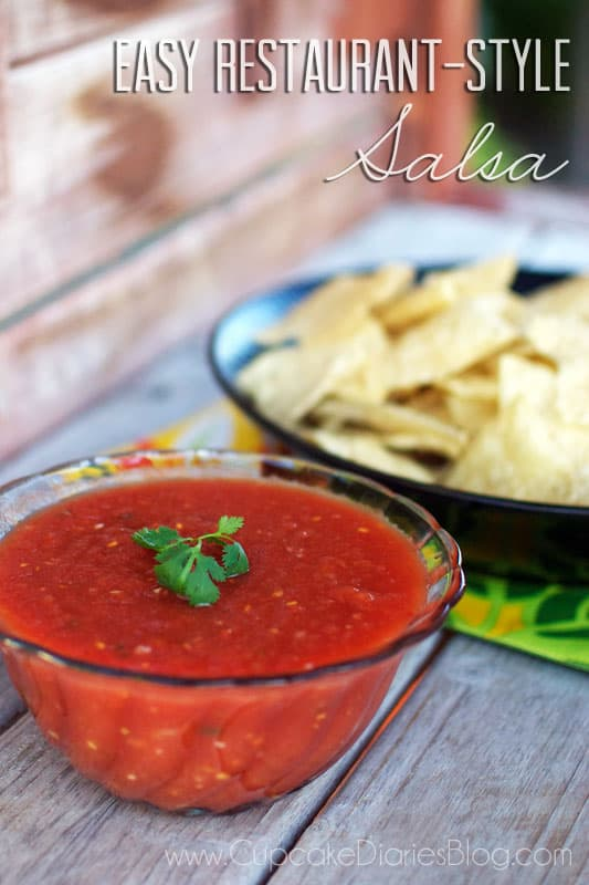 Easy Restsaurant-Style Salsa