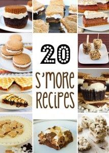 20 S'more Recipes