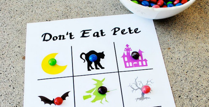 graphic about Don't Eat Pete Printable named Halloween \