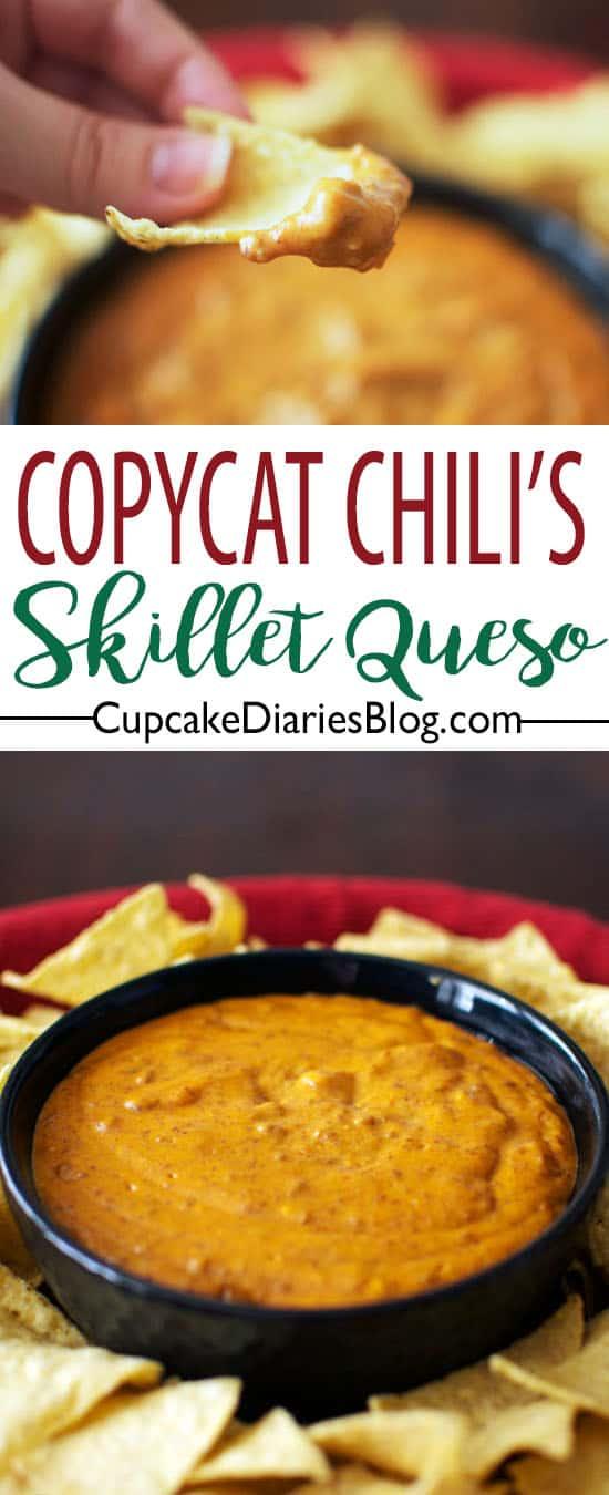 Copycat Chili's Skillet Queso
