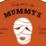 Mummy's Bed and Breakfast Halloween Printable {30 Days of Halloween – Day 2}