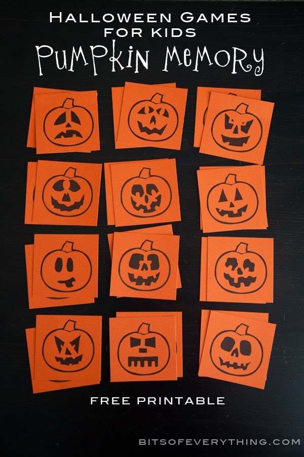Bright image throughout printable holloween games