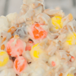 Candy Corn M&M Halloween Trash {30 Days of Halloween – Day 30}