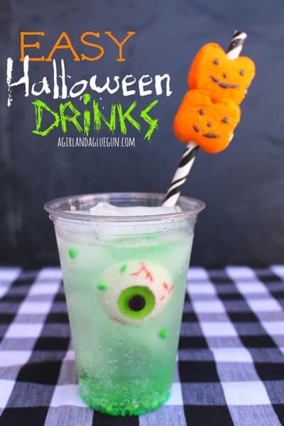 Easy Halloween Drinks
