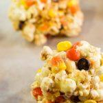 Halloween Popcorn Balls {30 Days of Halloween – Day 21}