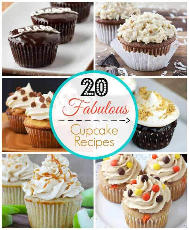 20 Fabulous Cupcake Recipes