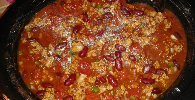 Crock Pot Chunky Chili