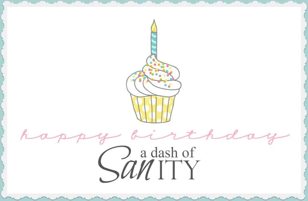 happy birthday a dash of sanity main