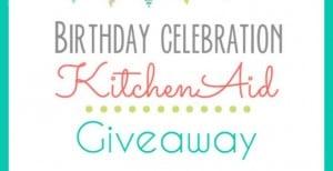KitchenAid Stand Mixer Giveaway {I'm Turning 30!}