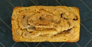 Cinnamon Chip Pumpkin Bread