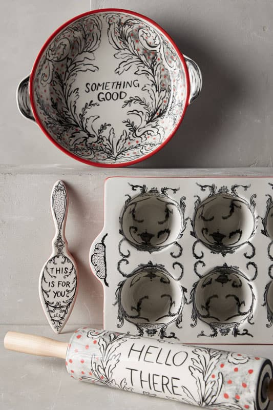 Anthropologie Bakeware Giveaway