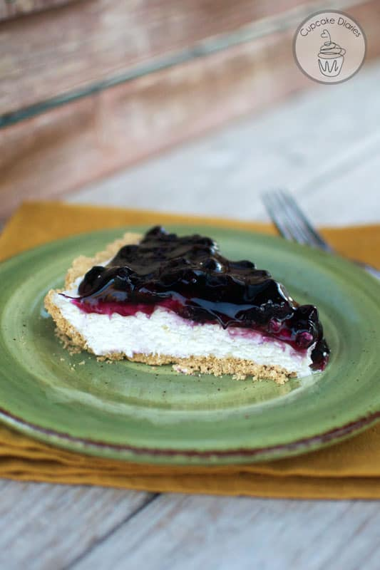 Hunger Games-Inspired Nightlock Berry Cheesecake