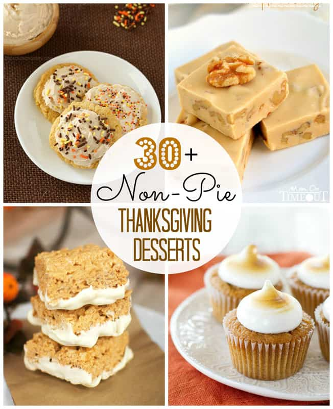 30+ Non-Pie Thanksgiving Desserts