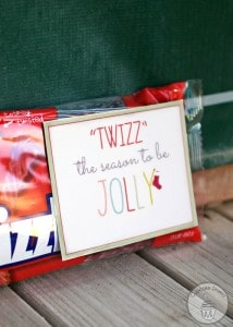 """Twizz"" the Season to Be Jolly Neighbor Gift FREE Printable"