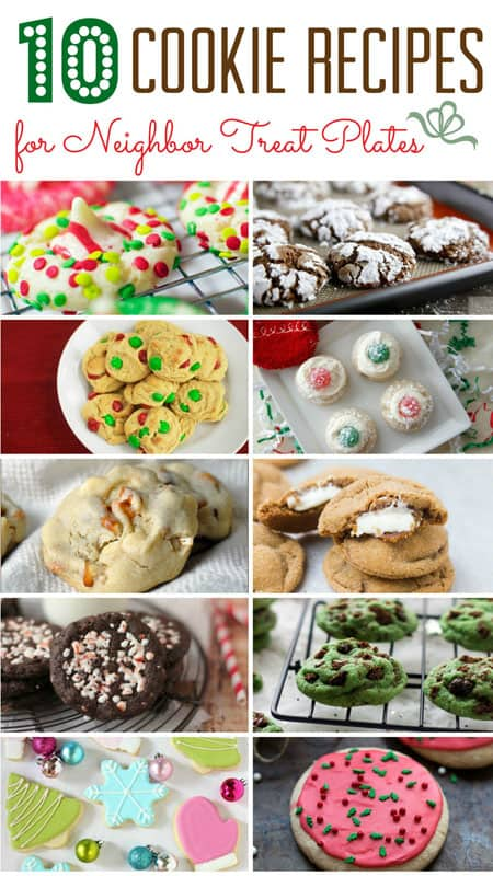 10 Cookie Recipes for Neighbor Treat Plates