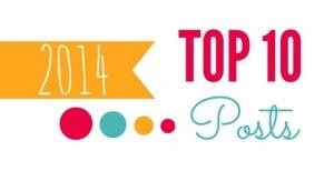 Cupcake Diaries Top 10 Posts of 2014