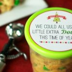 Cookie Dough Neighbor Gift with FREE Printable Tag