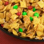 Ooey Gooey Holiday Chex Treat
