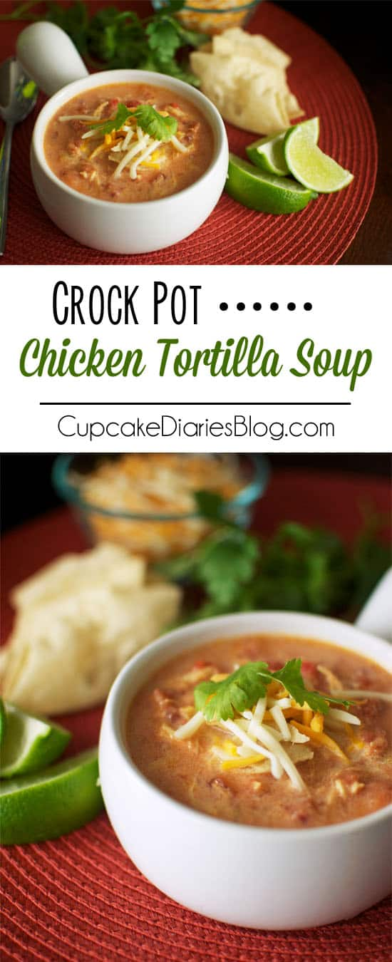 Crock Pot Chicken Tortilla Soup.