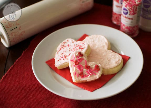Heart Sugar Cookies