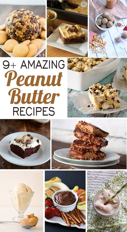 9+ Amazing Peanut Butter Recipes