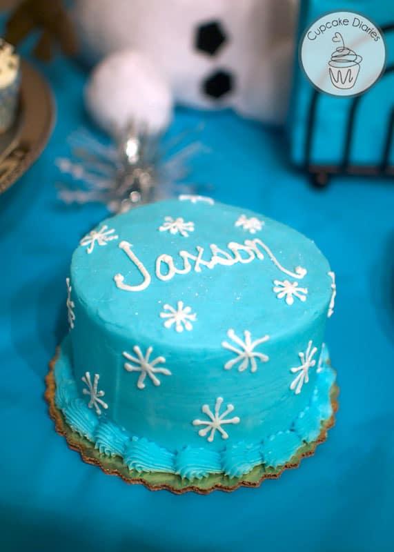 Simple Olaf Birthday Party Cupcake Diaries