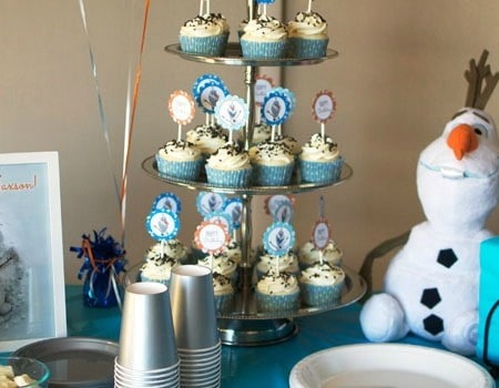 Simple Olaf Birthday Party