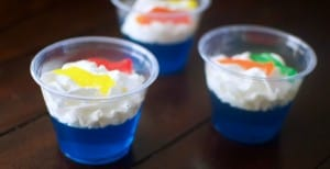 Easy One Fish Two Fish Jello Cups