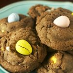 Chocolate Cadbury Mini Egg Cookies