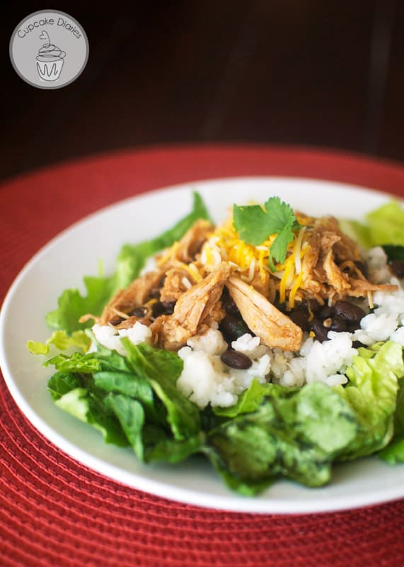Copycat Cafe Rio Pork Barbacoa Salads - Make this popular restaurant dish at home! Tastes just like the real thing.